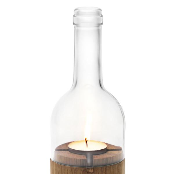 Ersatzglas für das side by side Weinlicht klarglas.